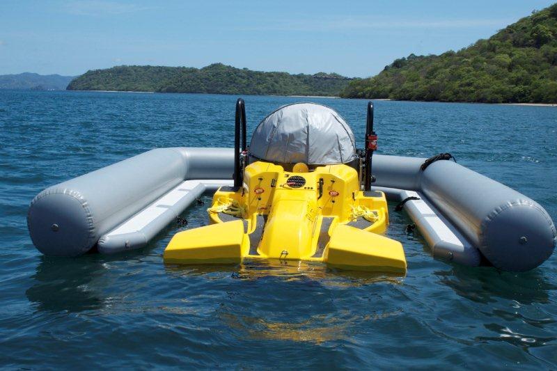 Submarine Pen Dock Henshaw Inflatables Ltd