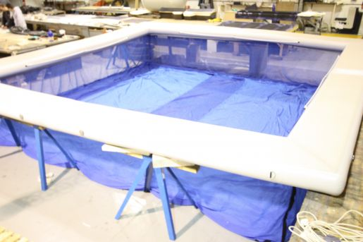 The New Mkii Inflatable Sea Pool Henshaw Inflatables Ltd