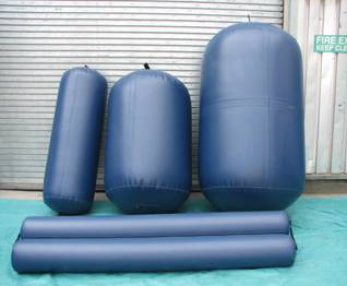 Easystow inflatable fenders