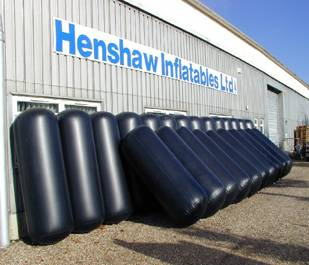 Inflatable Fenders ready for delivery